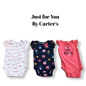 Just for You by Carter's Newborn Bodysuits